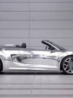 Chrome Audi R8 for auction