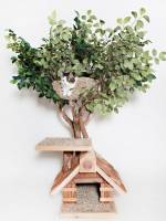 Hand-crafted tree houses for pets