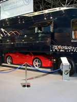 Luxurious Motor coach With Built-In Garage