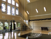 Gym and sports hall