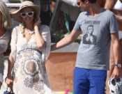 Paris Hilton was seeing enjoying some steamy holiday sessions with her darkhaired boyfriend Frederick, in the beautiful French Island of Corsica.