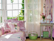Beautiful pink interiors