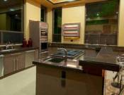 Modern features kitchen