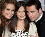 Ella Bleu Travolta with family