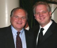 Glenn with Rush Limbaugh