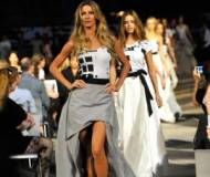 Gisele Bundchen on the runway