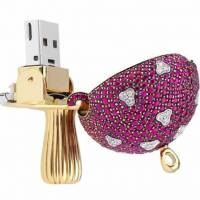 Gem-studded Magic Mushroom USB