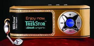 Limited Edition of i.Beat organix Gold MP3 Player Launched in Middle East