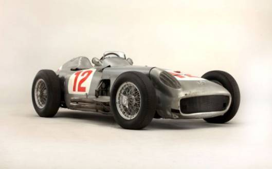 Fangio Mercedes Racer W196 Sells for a Record $29.7m at Bonhams Auction