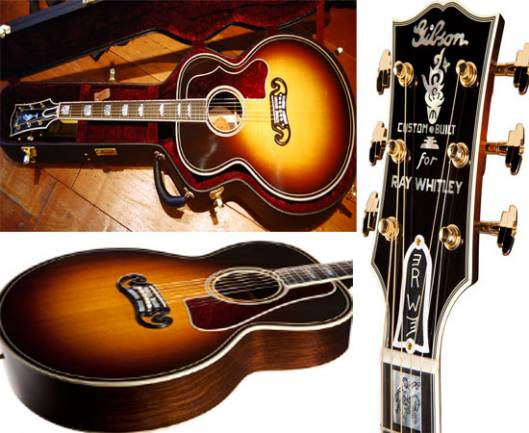 Gibson to offer Limited Edition J-200 Ray Whitley Specials