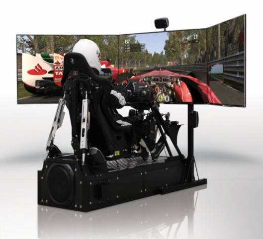 CXC Motion Pro II simulator is for professional-level racing experience at home
