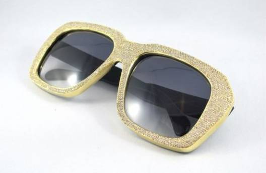 Vintage Frames $25,000 Diamond Edition Sunglasses