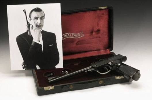 James Bond's Walther air pistol from 'Russia with Love' is up for sale – Get 007′s licence to kill