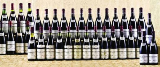 Domaine de la Romanee Conti wine lot