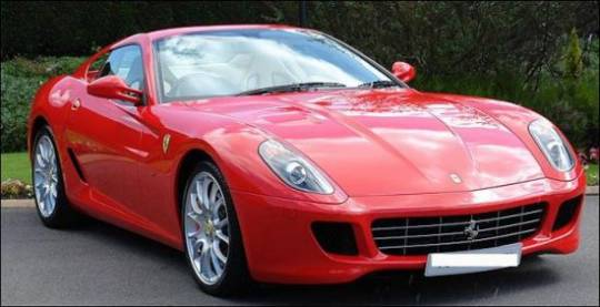 Ronaldo's Ferrari 599GTB in its prime