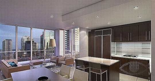 Pininfarina luxury Condominium interior