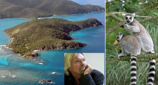 sir richard branson island of moskito