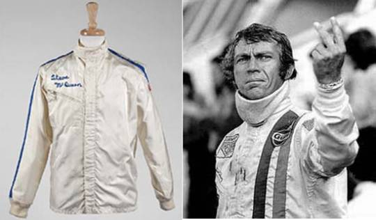 Racing jacket worn by Steve McQueen