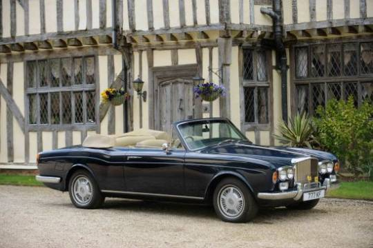 Sir Elton John's Bentley for sale at for sale at Bonhams