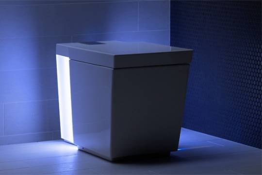 Kohler Numi Comfort Height toilet has better multimedia enhancements this time around including ambient lighting