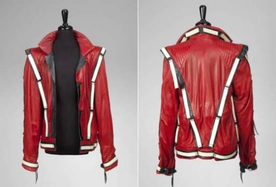 "Michael Jackson Bad Tour ""Thriller"" Jacket"