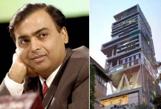 mukesh ambani new home antilia