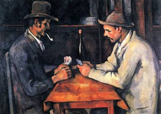The Card Players by Paul Cezzane