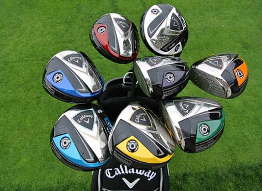 Callaway personalized RAZR Fit Driver club