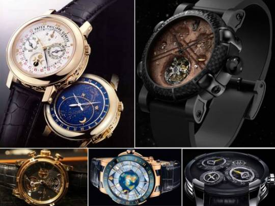 space inspired watches