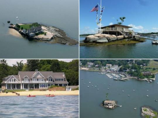 Christine Svennigsen is selling off her two private islands near Connecticut