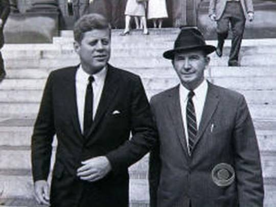 No one was closer to President John F. Kennedy than his longtime aide, David Powers.