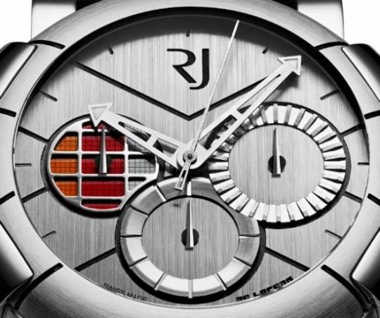 The DeLorean DNA watch by RJ-Romain Jerome is a tribute to the legendary DeLorean