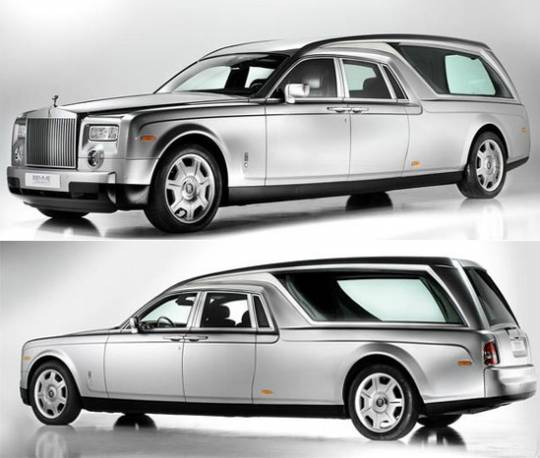 Rolls Royce Phantom Hearst B12