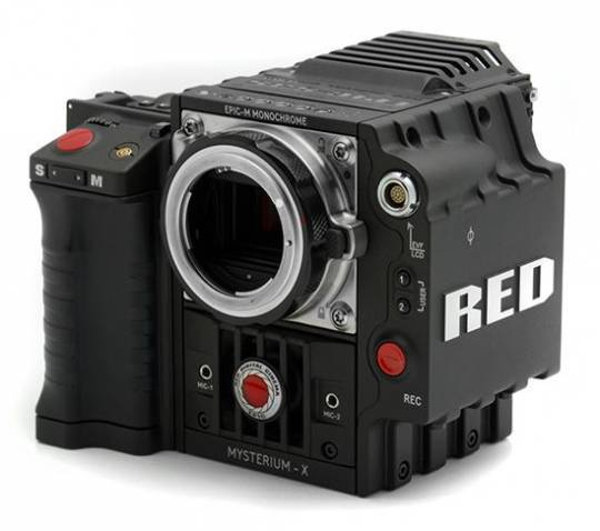 Red Camera unveils $42,000 Epic-M Monochrome cinema camera