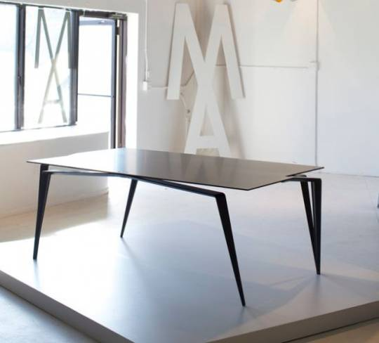 Maximillian Eicke's high-end contemporary furniture boasts $68k Table made out of carbon fiber and titanium