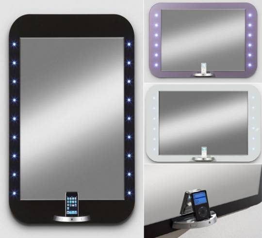 E-Mirror iPod & iPhone dock designing