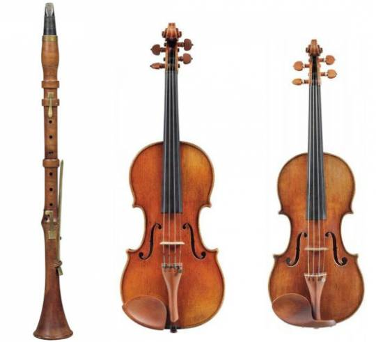 Christie's spring sale of fine musical instruments