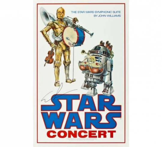 Rare Star Wars poster is estimated to fetch $8,000 at Vintage Movie Posters auction