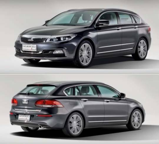 Qoros 3 Estate Concept: modern functionality with clever details