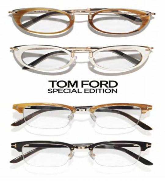 Tom Ford's Edition Optical Eyewear Collection