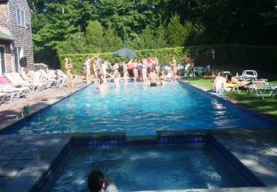 Pool Party in Hamptons