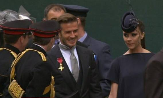 David at royal wedding