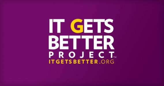 Actor Colin Farrell is involved in 'It Gets Better Project' charity