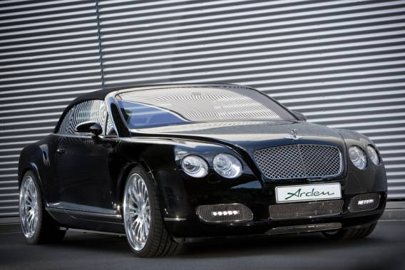 Bentley Continental GTC car - Color: Black  // Description: classy