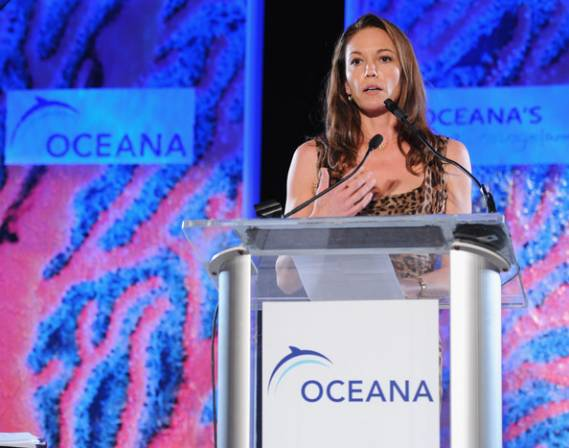 Diane Lane attends the 4th annual Oceana SeaChange summer party.