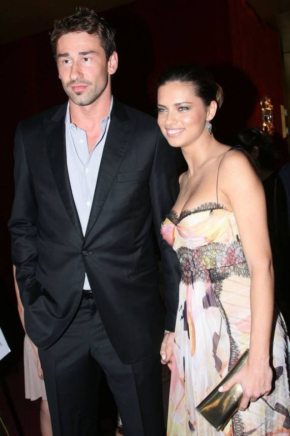 Adriana Lima and	Marco Jaric