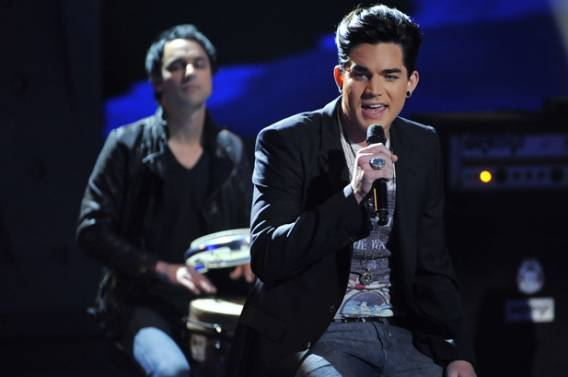 Adam Lambert supports The Trevor Project