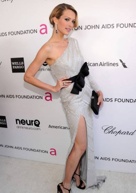 Petra attends Elton John AIDS Foundation event
