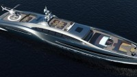 A limousine-like super yacht worth $132 million