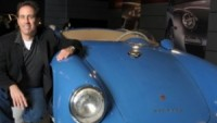 Jerry Seinfeld with one of his Porsche